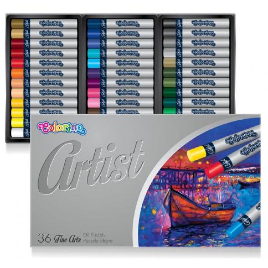 Artist Oil pastels Artist Oil pastels 12 colours colours