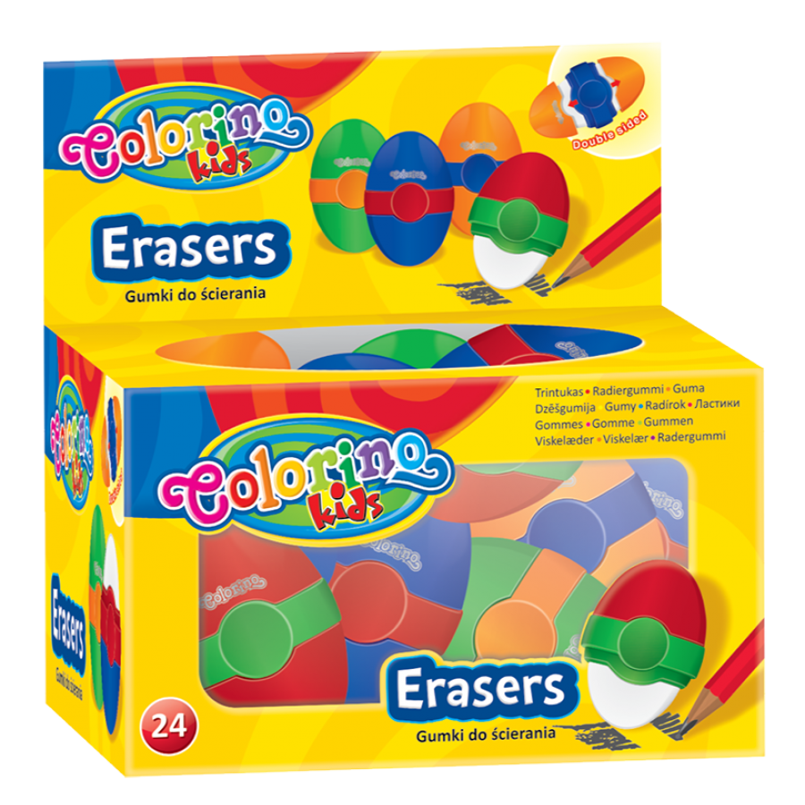 Double sided eraser