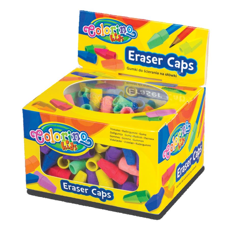 Eraser caps
