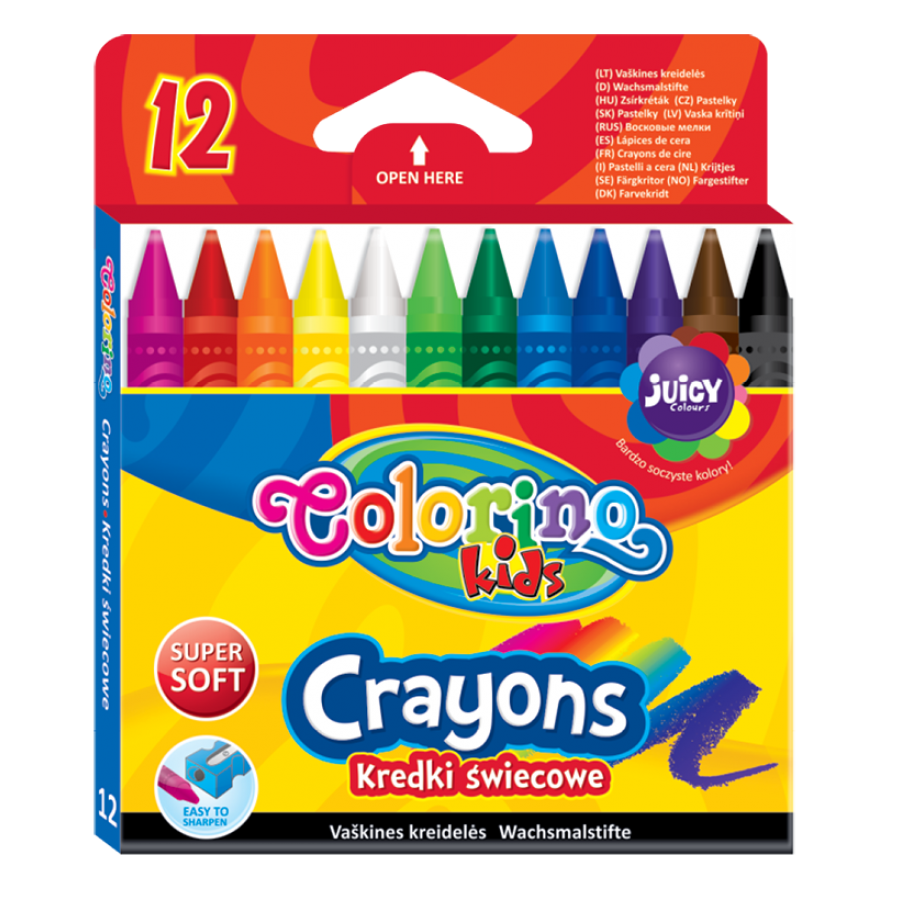 Crayons 12 colours