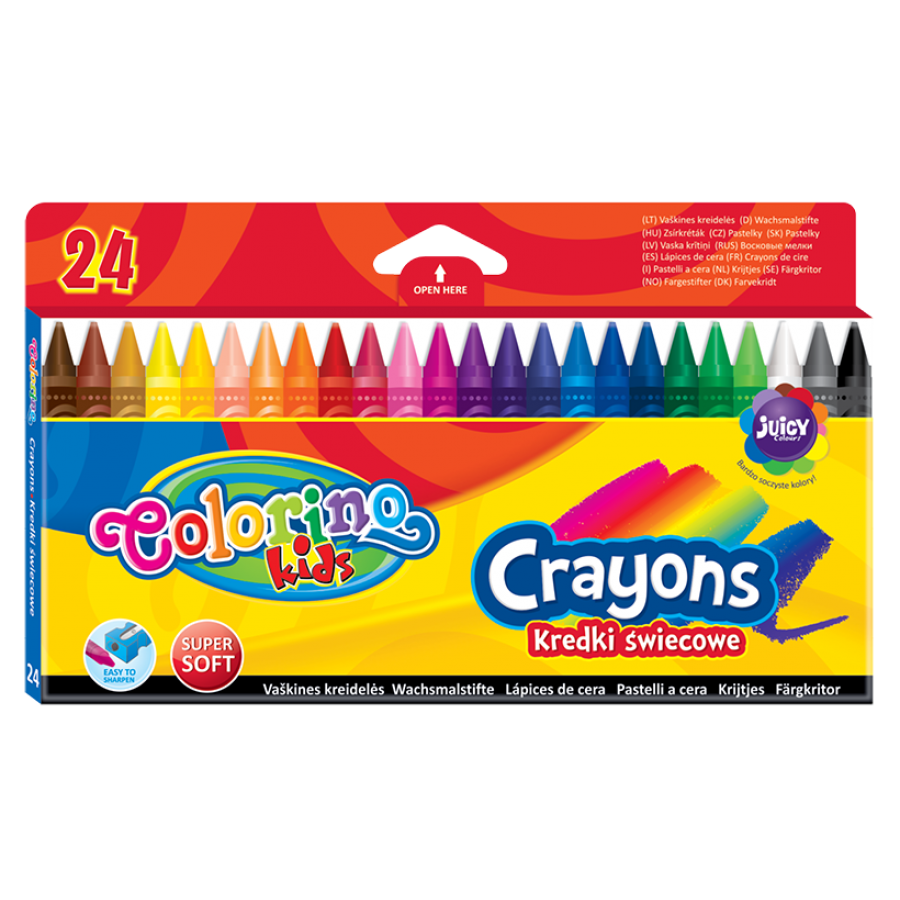 Crayons 24 colours