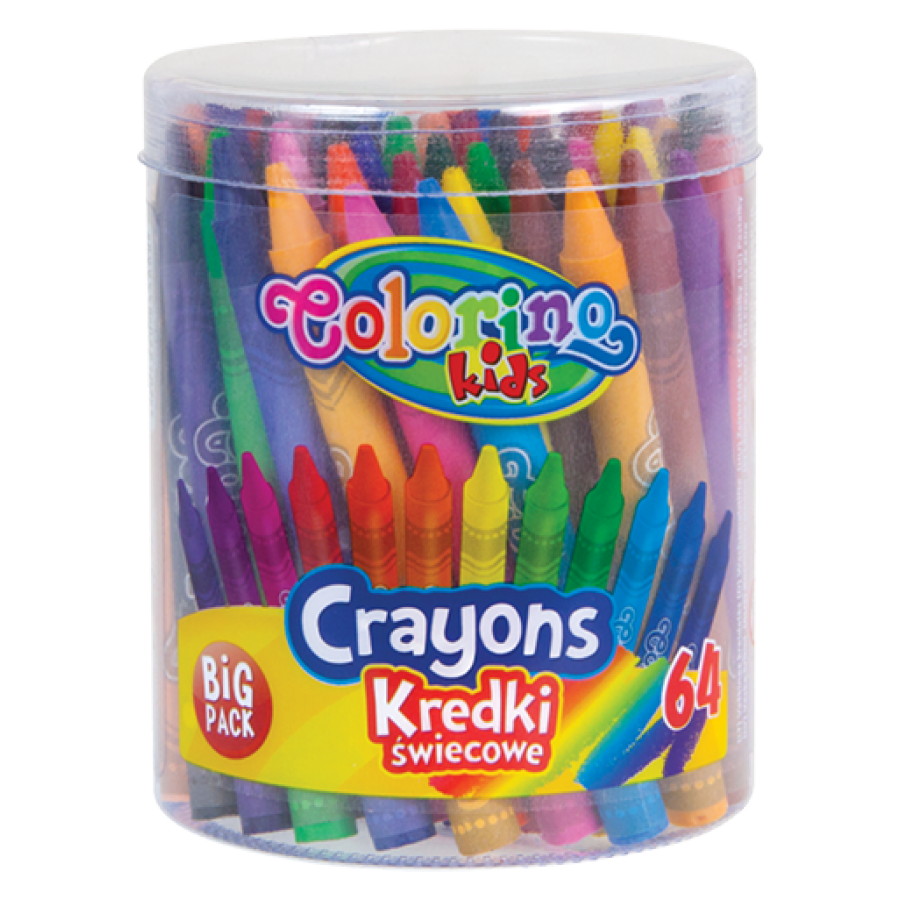 Crayons 64 colours