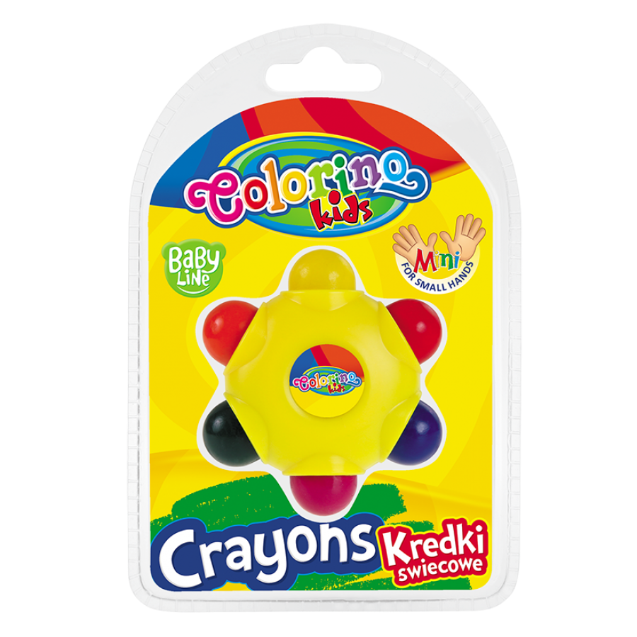 Star crayons 6 colours