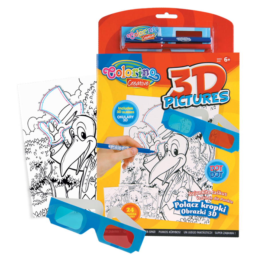3D pictures book