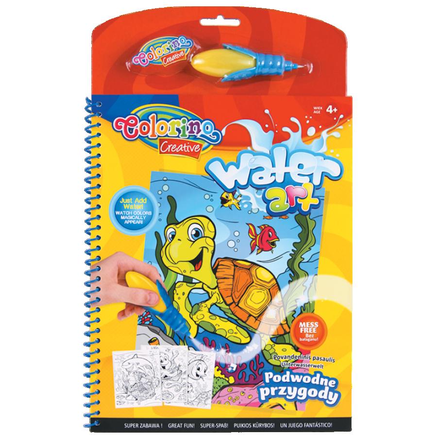 Water art book