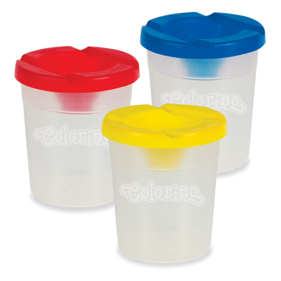 Non - spill cup Mix colours