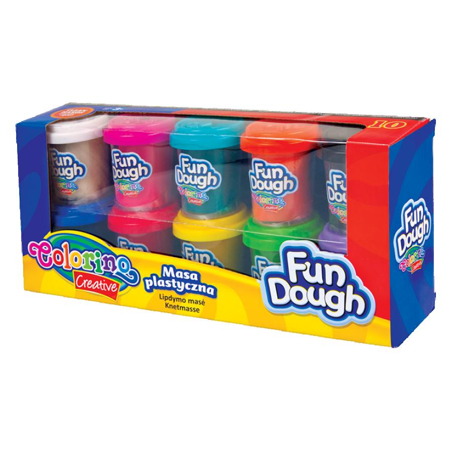 Fun Dough 10 colours