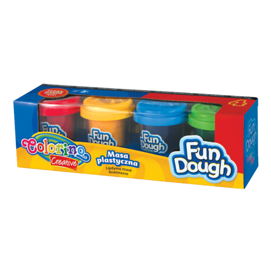 Fun Dough 4 colours