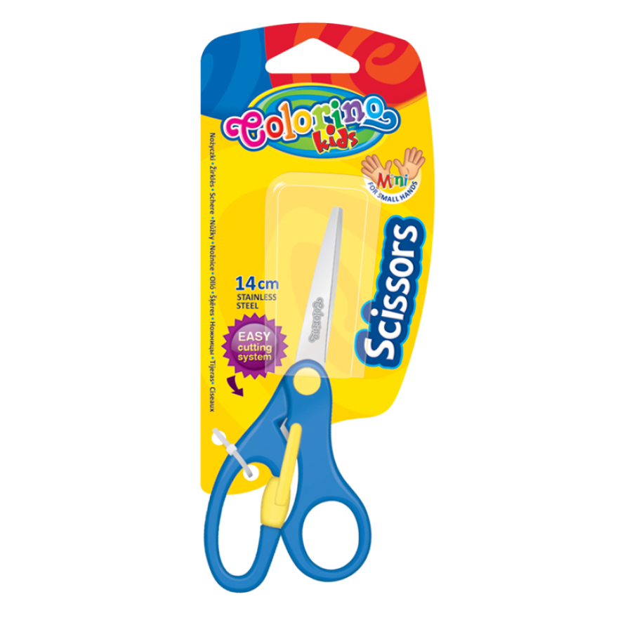 Scissors with authomatic system 14 cm.