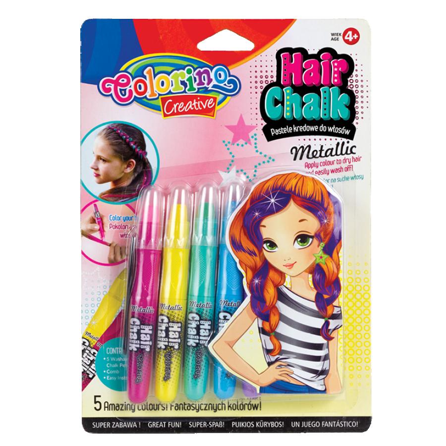 Hair chalk Metallic 5 colours
