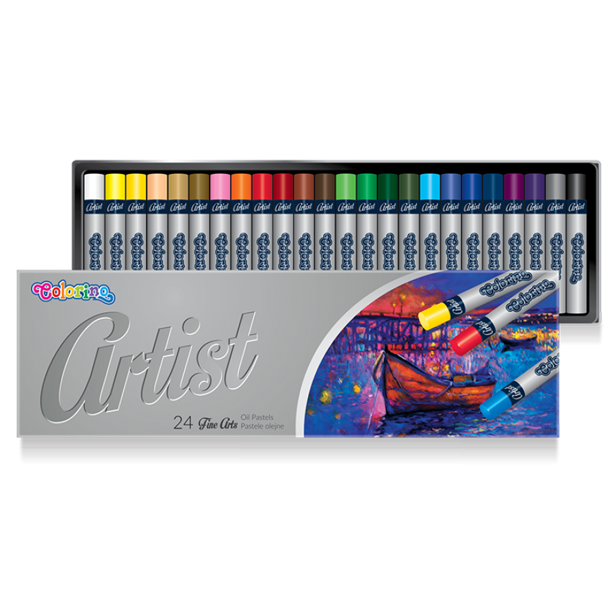 Artist Oil pastels 24 colours