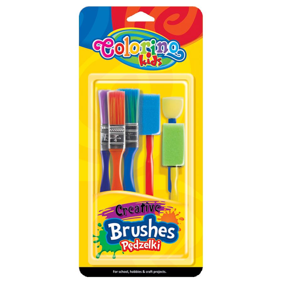 Creative brushes 6 pcs.