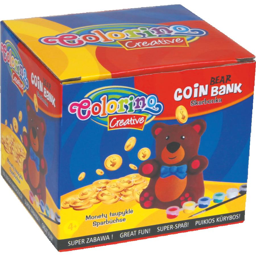 Bear coin bank