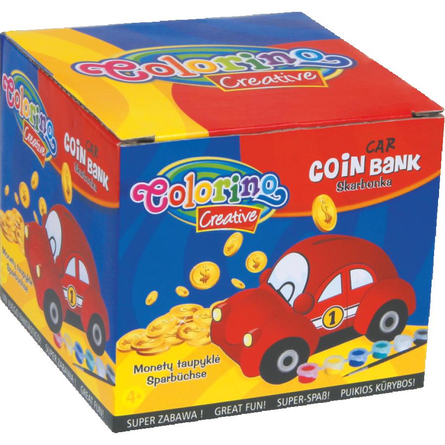 Car coin bank
