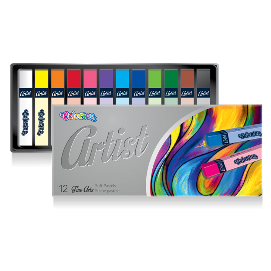 Artist Soft pastels 12 colours
