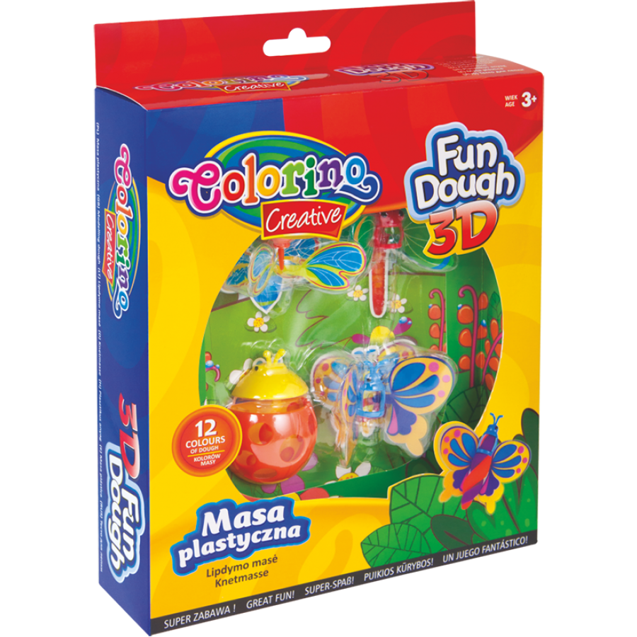 3D Fun Dough set